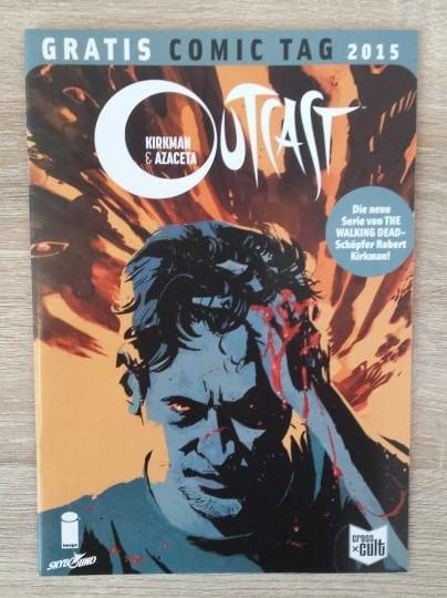 "Cover des Comics ""Outcast"" von Robert Kirkman"