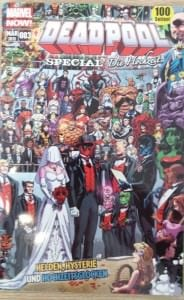 Deadpool Special mit Weltrekord-Cover