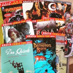 9 Comics am Gratis Comic Tag
