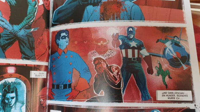 Witer Soldier und Captain America
