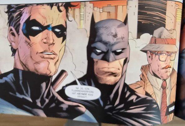 Batman, Nightwing und Gordon