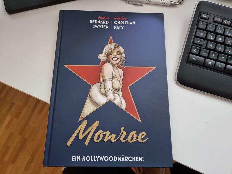 Marilyn Monroe Biografie Comic