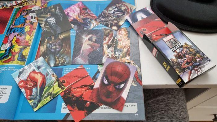 Marvel Trading Cards von Panini