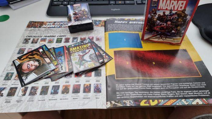 Panini-Stickeralbum Marvel Comics