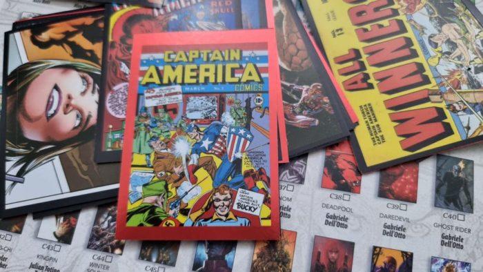 Panini Sticker Marvel Cover